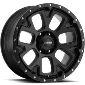 Ultra Type 109 xTreme Satin Black Wheels