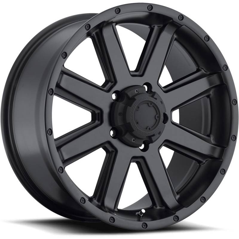 Ultra Type 195 Crusher Satin Black Wheels
