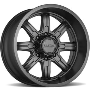 Ultra Type 229 Menace Satin Black Wheels