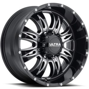 Ultra Type 249 Predator II 8-Lug Gloss Black Milled