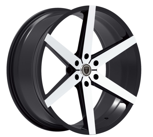 Borghini B35B Machine Black Wheels