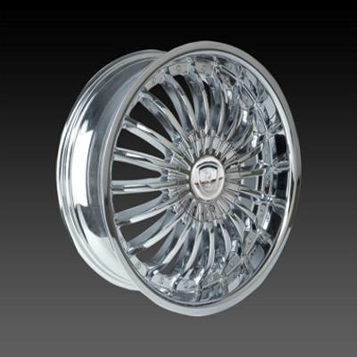 Borghini BW190 Chrome Wheels