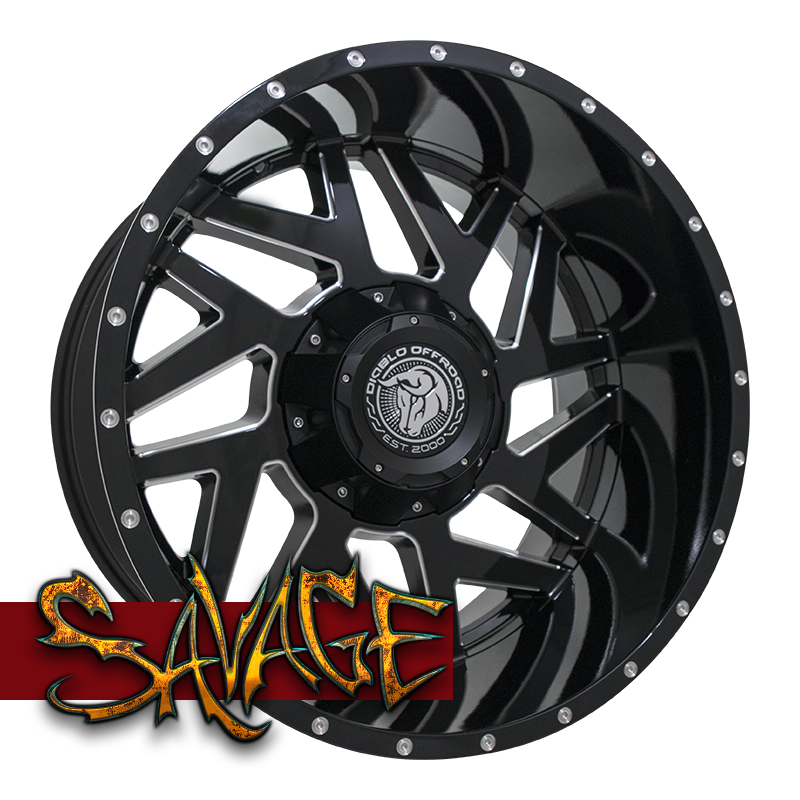 Diablo Offroad Savage Wheels