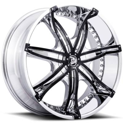 Diablo DNA Chrome with Black Iserts