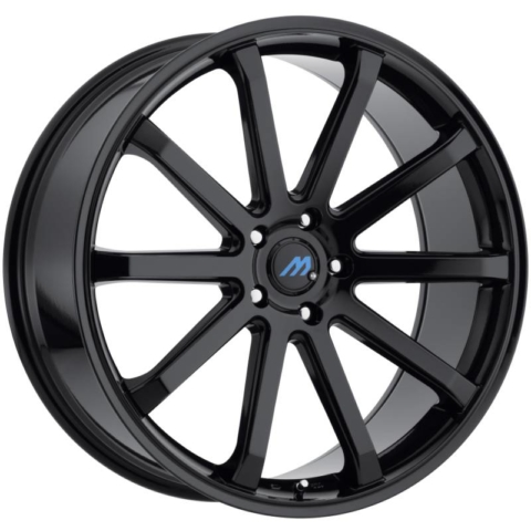 Mach Euro Concave ME.10 Gloss Black Wheels