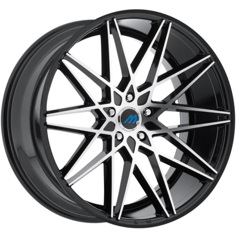 Mach Wheels Euro Concave ME.20 Machine Black