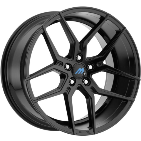 Mach Euro Concave ME.4 Black Wheels