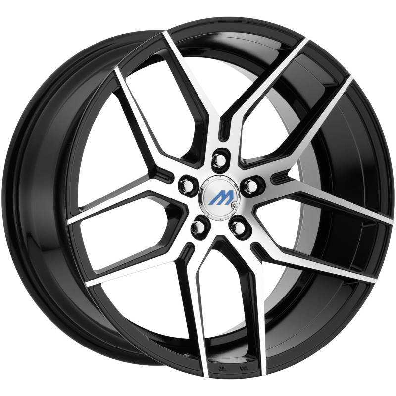 Mach Euro Concave ME.4 Machine Black Wheels