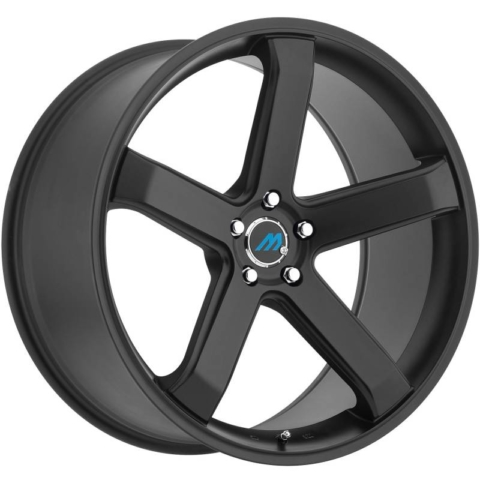 Mach Euro Concave ME.5 Black Wheels
