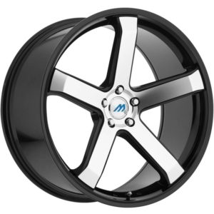 Mach Euro Concave ME.5 Machine Black Wheels