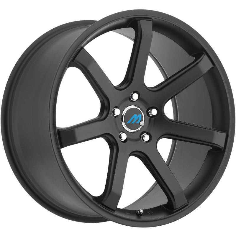 Mach Euro Concave ME.7 Black Wheels