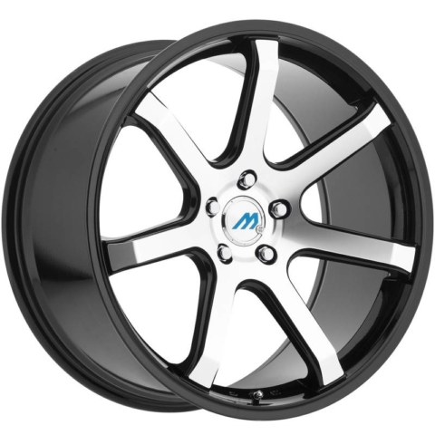 Mach Euro Concave ME.7 Machine Black Wheels