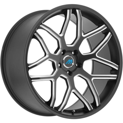 Mach Euro Concave ME.8 Black Milled