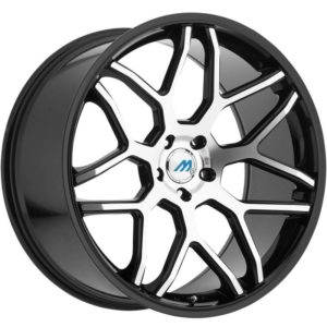 Mach Euro Concave ME.8 Machine Black Wheels