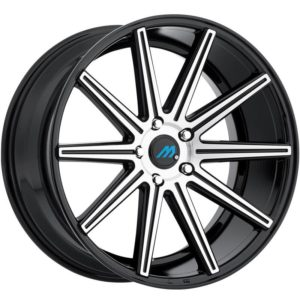 Mach Euro Concave ME.9 Machine Black Wheels