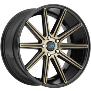 Mach Euro Concave ME.9 Tinted Black Wheels