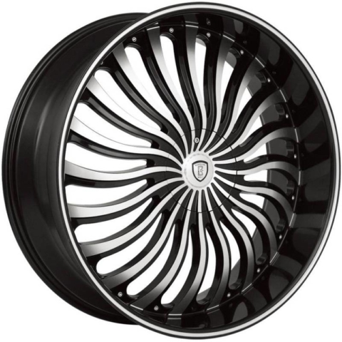 Borghini B24 Machine Black Wheels