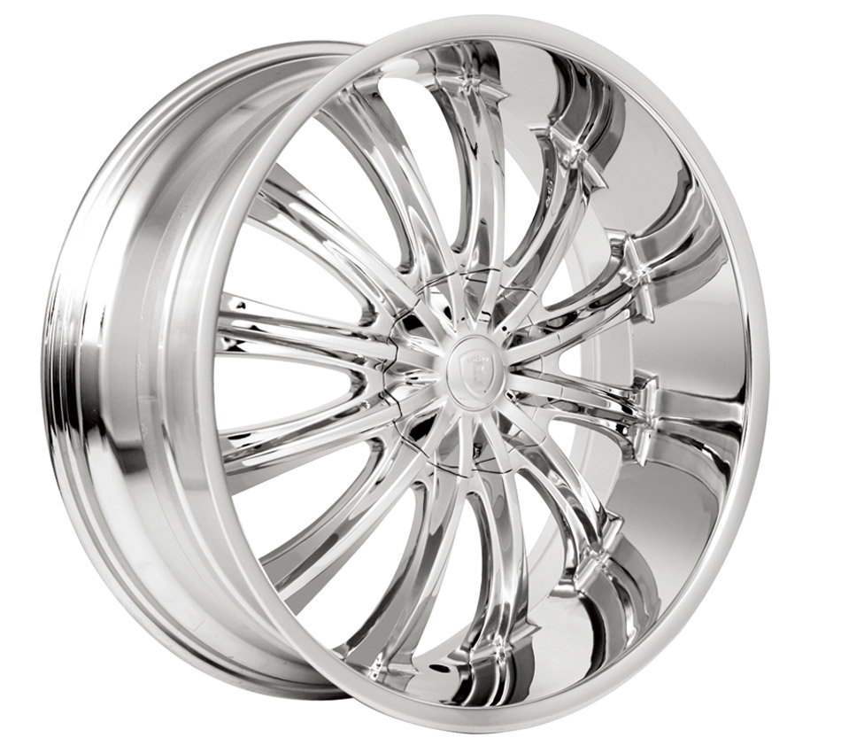 Borghini B15 Chrome Wheels