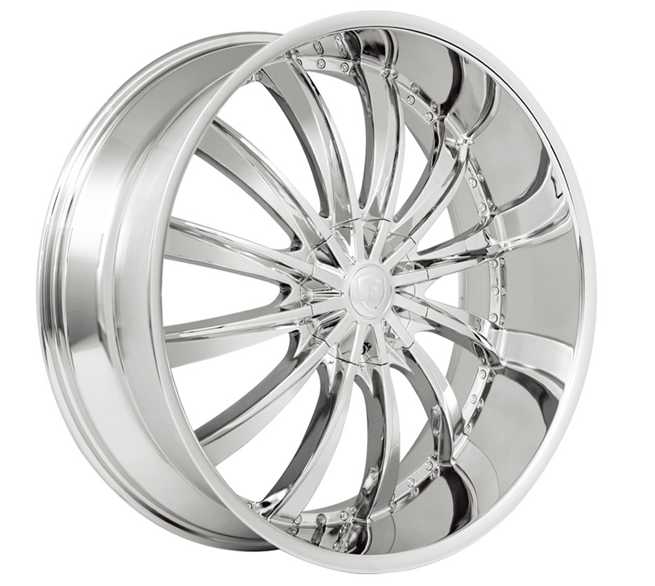 Borghini BW19 Chrome Wheels