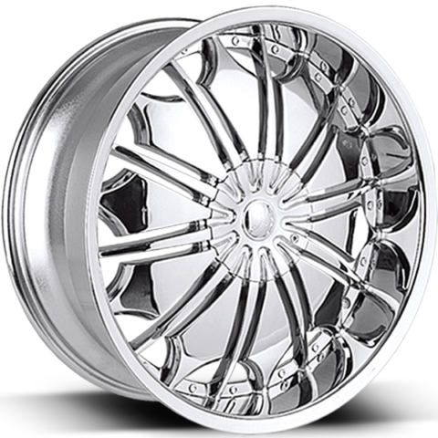 Borghini Wheels B706 Chrome Wheels
