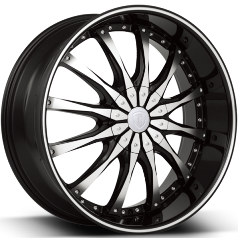 Borghini B8 Machine Black Wheels