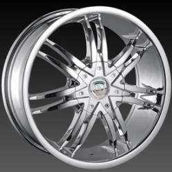 Borghini B14 Chrome Wheels