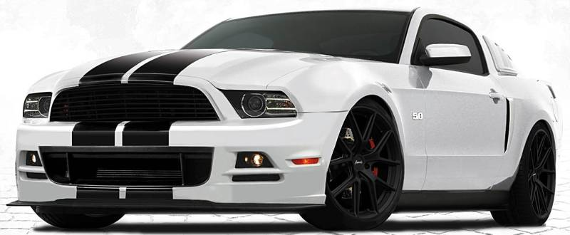 Ford Mustang Custom Wheels