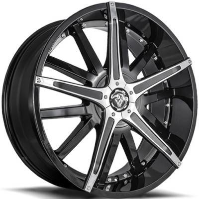 Diablo Dagger Black Wheels
