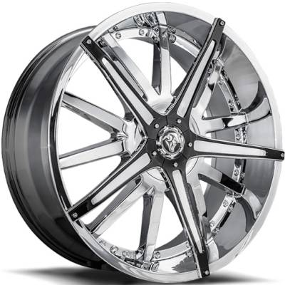 Diablo Dagger Chrome Wheels