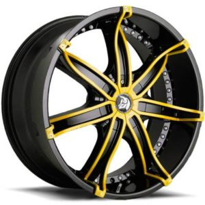 Diablo DNA Black with Yellow Inserts