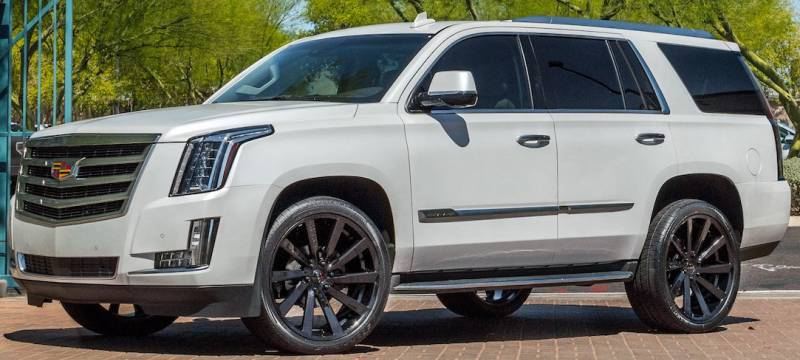 Cadillac Escalade Custom Wheels KOKO Kuture Kapan on Cadillac Escalade