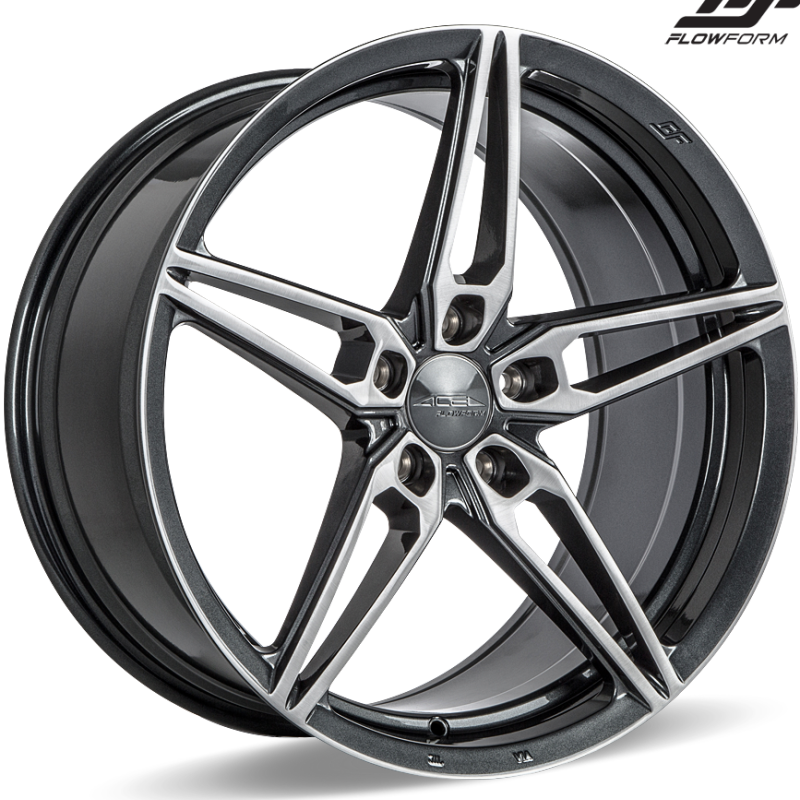 Ace Alloy AFF01 Brushed Grey Wheels