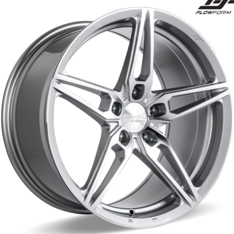 Ace Alloy AFF01 Liquid Silver Wheels