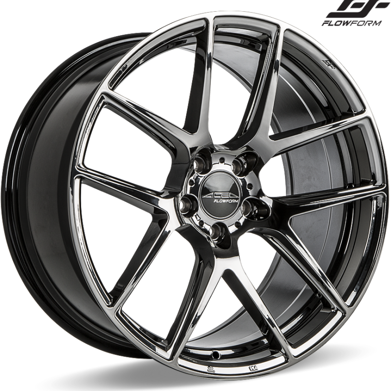 Ace Alloy AFF02 Black Chrome Wheels