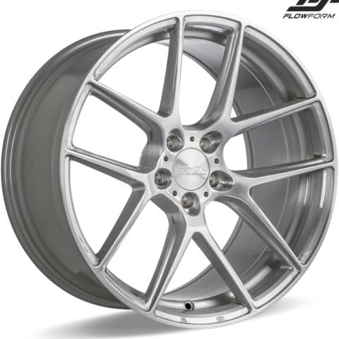 Ace Alloy AFF02 Brushed Wheels