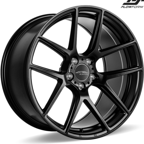 Ace Alloy AFF02 Matte Black Wheels