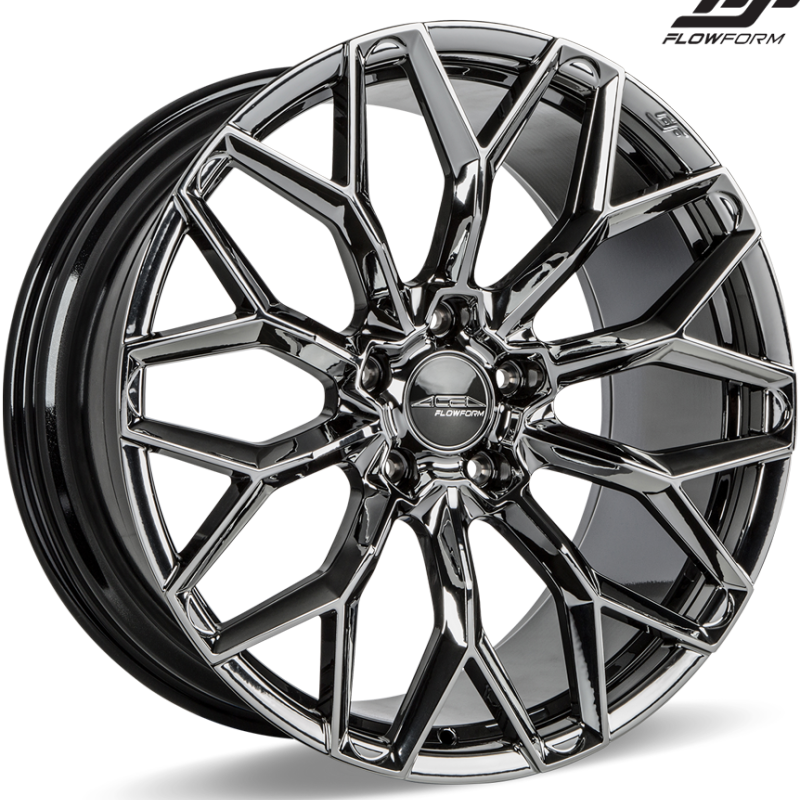 Ace Alloy AFF03 Black Chrome Wheels