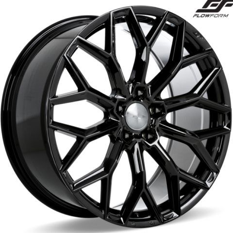 Ace Alloy AFF03 Gloss Piano Black Wheels