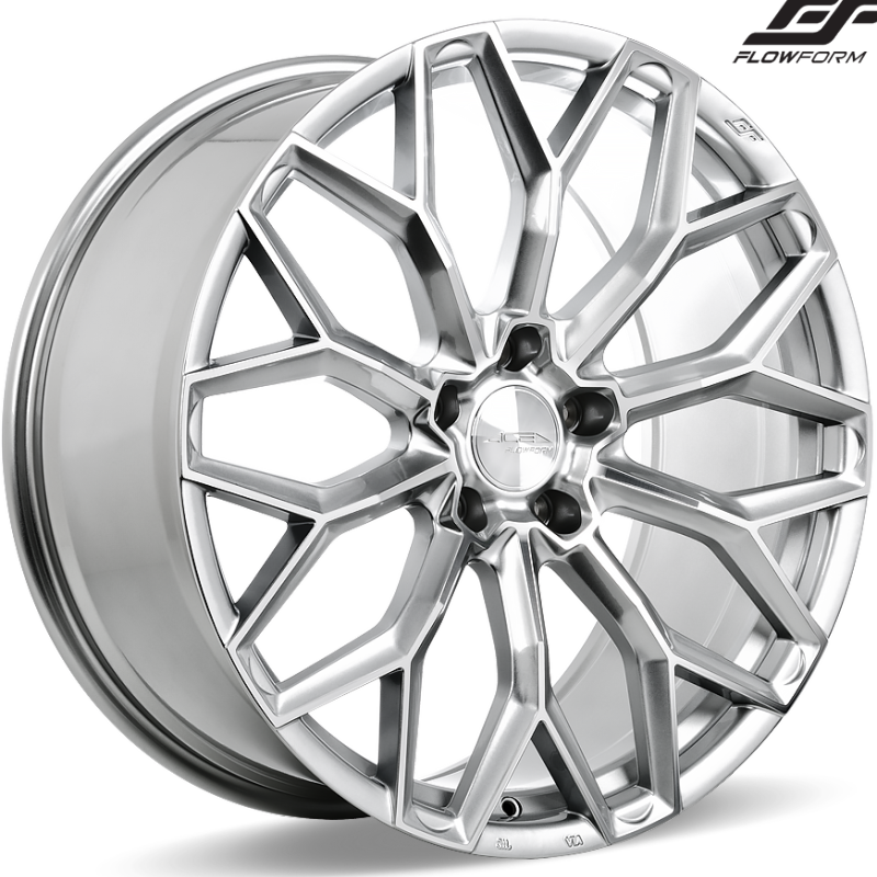 Ace Alloy AFF03 Liquid Silver Wheels