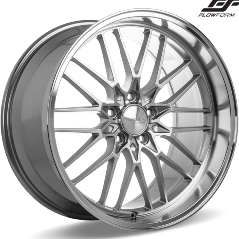 Ace Alloy AFF04 Liquid Silver Wheels