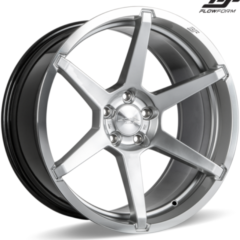 Ace Alloy AFF06 Liquid Silver Wheels