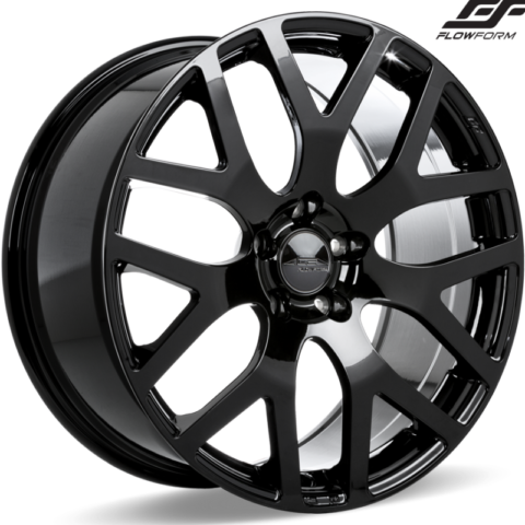 Ace Alloy AFF07 Gloss Piano Black Wheels