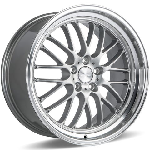 Ace Alloy Wheels SL-M Matte Silver