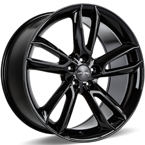 Ace Alloy Scorpio gloss Black Wheels