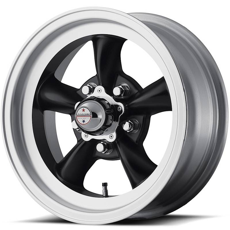 American Racing VN105D Torq Thrust D Black Wheels