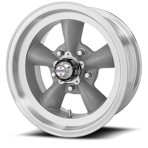 American Racing VN105D Torq Thrust D Gray Wheels