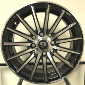 G-Line G-0118 Machine Black Wheels