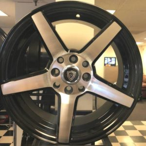 G-Line G-5109 Machine Black Wheels