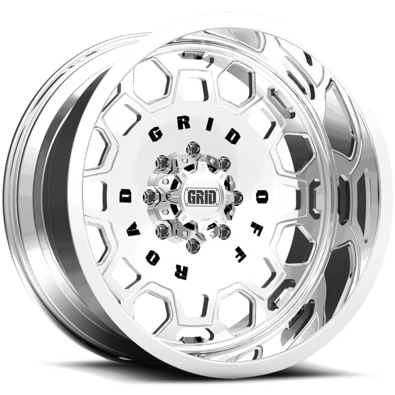 Grid Off Road Wheels GF-M0 Polished Wheels