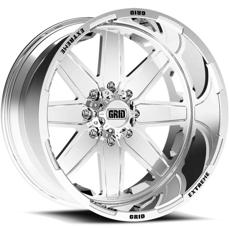 Grid Off Road Wheels GF-M1 Polished Wheels